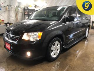 Used 2015 Dodge Grand Caravan Crew * Garmin Navigation System * Stow N Go  * Second-row overhead 9-inch VGA video screen  * Left Power Sliding Door Power Liftgate Right Power Slidi for sale in Cambridge, ON