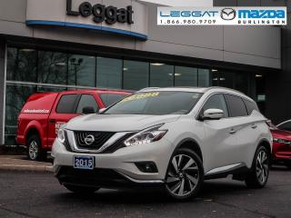 Used 2015 Nissan Murano Platinum- NAVIGATION, LEATHER, MOONROOF, 360 CAMERA for sale in Burlington, ON