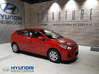 Used 2013 Hyundai Accent GL+A/C+BANCS CHAUFF+ CRUISE for sale in Sherbrooke, QC