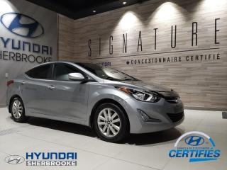 Used 2015 Hyundai Elantra SPORT+TOIT+BANCS CHAUF+BLUETOOTH for sale in Sherbrooke, QC