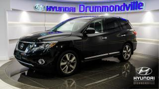 Used 2015 Nissan Pathfinder PLATINUM 4WD  + GARANTIE + NAVI + DVD !! for sale in Drummondville, QC