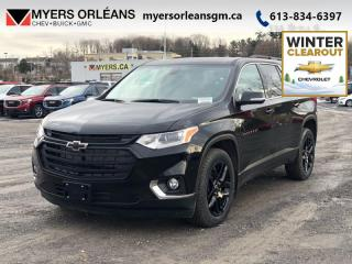 New 2020 Chevrolet Traverse LT True Noth  - Sunroof for sale in Orleans, ON