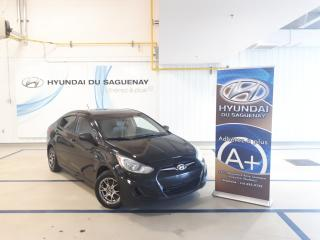 Used 2013 Hyundai Accent Accent GLS for sale in Jonquière, QC