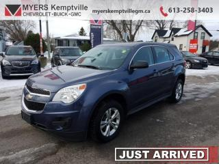 Used 2013 Chevrolet Equinox LS  - Bluetooth -  SiriusXM for sale in Kemptville, ON
