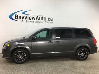 Used 2018 Dodge Grand Caravan GT - HTD LEATHER! STOW 'N GO! PWR DOORS! 3 ZONE A/C! + MORE! for sale in Belleville, ON