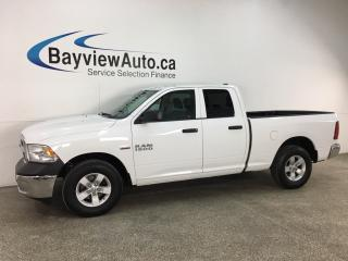 Used 2018 RAM 1500 - SXT! QUAD CAB! V8! PWR GROUP! for sale in Belleville, ON