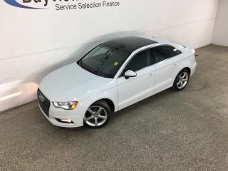 Used 2015 Audi A3 2.0 TDI Komfort - HEATED LEATHER! SUNROOF!, BLUETOOTH! ALLOYS! PWR GROUP! for sale in Belleville, ON