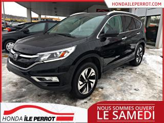 Used 2016 Honda CR-V AWD TOURING WOW ,CUIR , NAVIGATION , TOIT for sale in Île-Perrot, QC