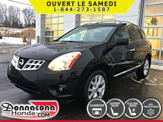 Used 2011 Nissan Rogue SL AWD *CUIR, GPS, TOIT* for sale in Donnacona, QC