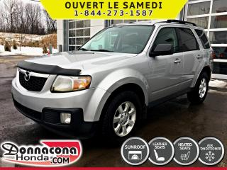 Used 2011 Mazda Tribute GX V6 AWD * CUIR, TOIT, MAGS* for sale in Donnacona, QC