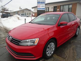 Used 2016 Volkswagen Jetta TRENDLINE+ for sale in Ancienne Lorette, QC