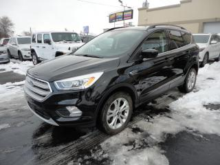 Used 2018 Ford Escape SEL AWD Cuir Toit Pano Nav Camera for sale in Laval, QC