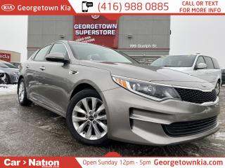 Used 2017 Kia Optima LX+ B/U CAM| HEATED SEATS| ALLOY WHEELS| PWR SEAT for sale in Georgetown, ON