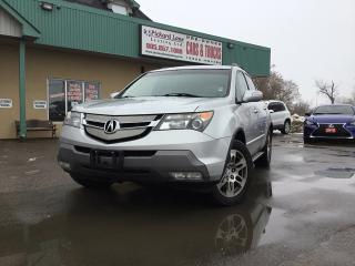 Used 2007 Acura MDX NAVI|SUNROOF|REVRESE CAMERA| LOADED| CERTIFIED for sale in Bolton, ON