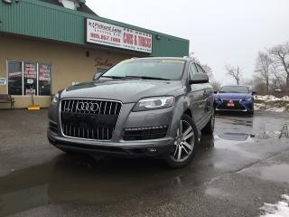 Used 2011 Audi Q7 3.0 TDI Premium FULLY LOADED|PANO ROOF|NAVI|REVERSE CAM for sale in Bolton, ON