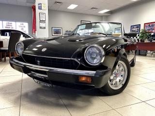Used 1980 Fiat Spider SUPER RARE FIAT SPIDER!! LOW KMS!! RESTORED!! CERTIFIED!! for sale in Bolton, ON