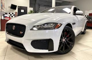 Used 2017 Jaguar XF XF S|| RED LEATHER|| NAVIGATION|| PANO ROOF|| REVERSE CAM|| CERTIFIED!! for sale in Bolton, ON