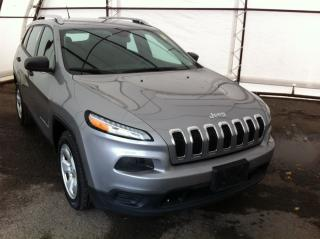 Used 2016 Jeep Cherokee Sport 5.0 TOUCHSCREEN, HANDSFREE CALLING, CLOTH SEATING, KEYLESS ENTRY for sale in Ottawa, ON