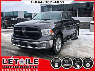 Used 2016 RAM 1500 SLT QUADCAB 4X4 V6, DEMARREUR A DISTANCE for sale in Jonquière, QC