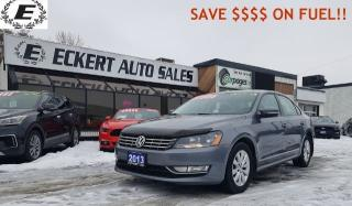 Used 2013 Volkswagen Passat Trendline  SAVE $$$ ON FUEL!! for sale in Barrie, ON