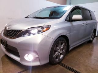 Used 2015 Toyota Sienna SE 8 Passenger NAVIGATION 1 OWNER NO ACCIDENT BLIND SPOT SUNROOF CAMERA CERTIFIED for sale in Concord, ON