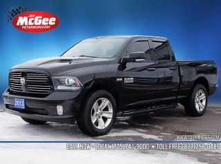 Used 2013 RAM 1500 Sport 5.7L Hemi, Htd Clth Bkts, Sunroof, Rmt Start, 20
