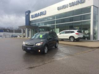 Used 2015 Subaru Forester i Touring w/Tech Pkg for sale in Owen Sound, ON