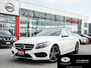 Used 2016 Mercedes-Benz C-Class AMG PKG | LED LIGHT PKG | HEATED STEERING | PANO | for sale in Richmond Hill, ON