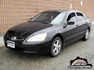 Used 2005 Honda Accord EX-L || CERTIFIED || AUTO for sale in Waterloo, ON