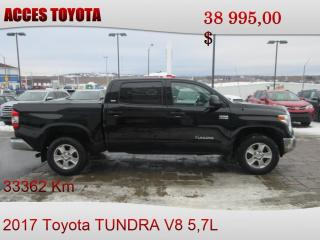 Used 2017 Toyota Tundra 4X4 CrewMax SR5 Plus for sale in Rouyn-Noranda, QC
