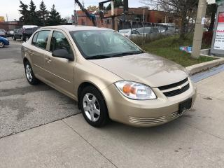 Used 2005 Chevrolet Cobalt ONLY135KM,ONE OWNER,SAFETY+3YEARS WARRANTY INLCUDE for sale in Toronto, ON