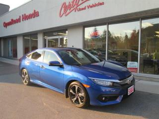 Used 2018 Honda Civic Sedan Touring CVT Touring, Navi, Backup Camera, Bluetooth, Leather, Honda Certified for sale in Burnaby, BC