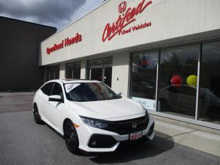 Used 2017 Honda Civic Hatchback Sport HS CVT Honda Sensing, Apple/Android Car play, Sunroof for sale in Burnaby, BC