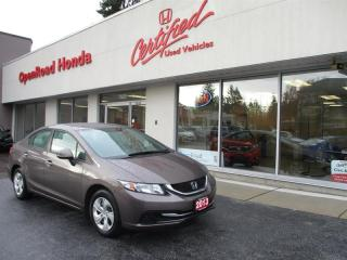 Used 2013 Honda Civic Coupe LX 5AT Heated seats, Air Conditioning, Bluetooth for sale in Burnaby, BC