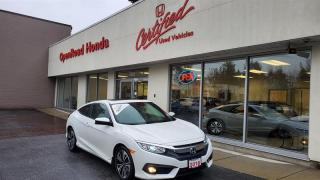 Used 2016 Honda Civic Coupe EX-T CVT HS Sunroof, Bluetooth, Backup Camera for sale in Burnaby, BC