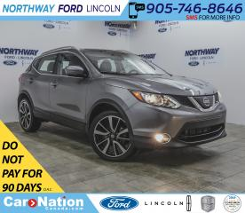 Used 2018 Nissan Qashqai SL | AWD | NAV | LEATHER | SUNROOF | PUSH START | for sale in Brantford, ON