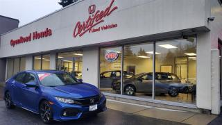 Used 2019 Honda Civic Hatchback Sport CVT Sunroof, Bluetooth, Backup Camera for sale in Burnaby, BC