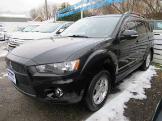Used 2010 Mitsubishi Outlander LS *Clean Carproof + 1 Ownr* Certified w/ Warranty for sale in Brantford, ON