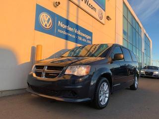 Used 2014 Dodge Grand Caravan SXT W/ DVD PKG for sale in Edmonton, AB