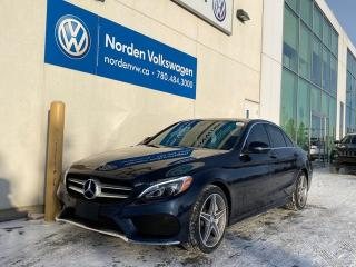 Used 2017 Mercedes-Benz C-Class C300 4MATIC W/ AMG SPORT PKG for sale in Edmonton, AB