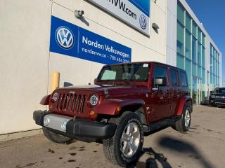Used 2009 Jeep Wrangler Unlimited SAHARA UNLIMITED 4WD - GREAT CONDITION for sale in Edmonton, AB