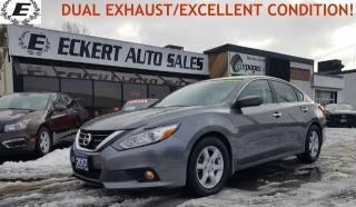 Used 2017 Nissan Altima 2.5 S/ DUAL EXHAUST/GREAT CONDITION!! for sale in Barrie, ON