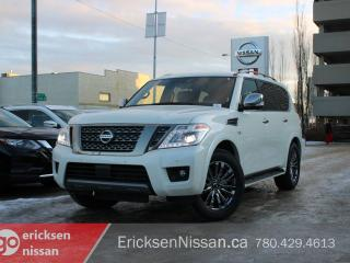 New 2020 Nissan Armada Platinum Reserved 4dr 4WD Sport Utility for sale in Edmonton, AB