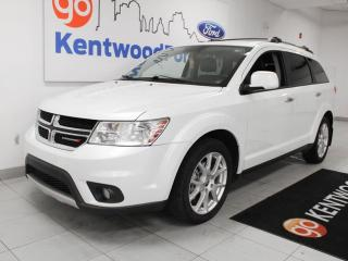 Used 2015 Dodge Journey R/T AWD with power leather seats and push start/stop for sale in Edmonton, AB