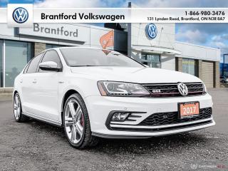 Used 2017 Volkswagen Jetta GLI Autobahn 2.0T 6sp DSG at w/Tip for sale in Brantford, ON