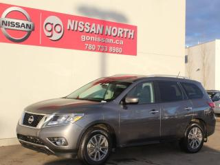 Used 2016 Nissan Pathfinder SV/4WD/HEATED SEATS/POWER LIFTGATE for sale in Edmonton, AB