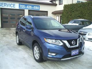 Used 2017 Nissan Rogue SL, AWD Pano Roof for sale in Beaverton, ON