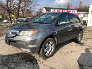 Used 2007 Acura MDX 7 Passenger/Leather/Roof/Navi/Back Up Camera for sale in Scarborough, ON