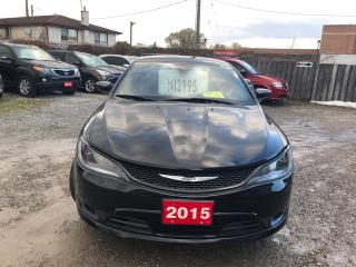 Used 2015 Chrysler 200 S for sale in Hamilton, ON