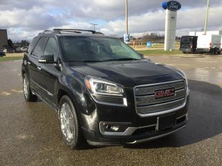 Used 2016 GMC Acadia Denali | Sunroof | DVD Entertainment System for sale in Harriston, ON